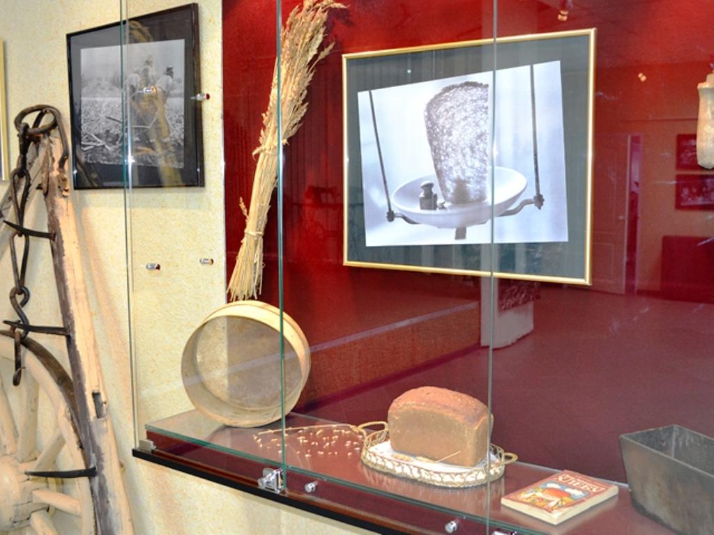 Передвижная выставка из МБУК «Музейный ресурсный центр» г. Ноябрьск «Горький хлеб войны»