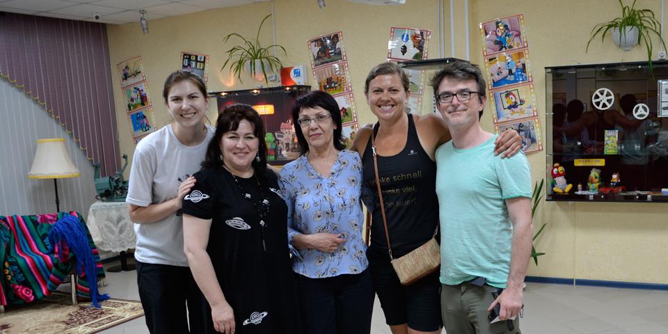 Мариана и Анализа Клугэ, гости из Бразилии