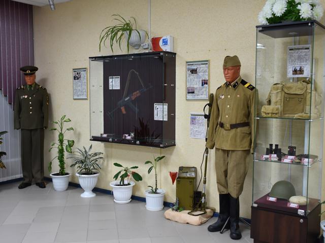 Передвижная выставка «На страже Отечества»