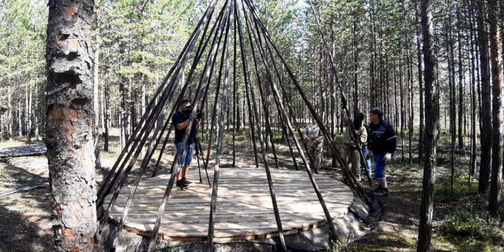 Подготовка территории природно-этнографического комплекса под открытым небом
