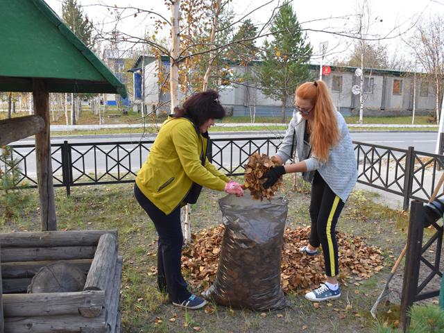 Сотрудники музея и ТОС «Молодёжного» собрали 15 мешков мусора
