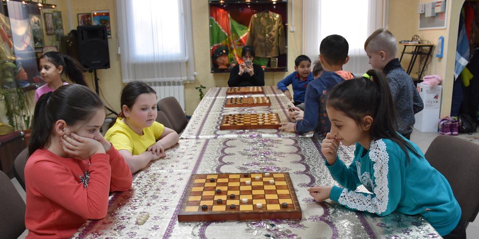 Шашечный турнир среди одноклассников