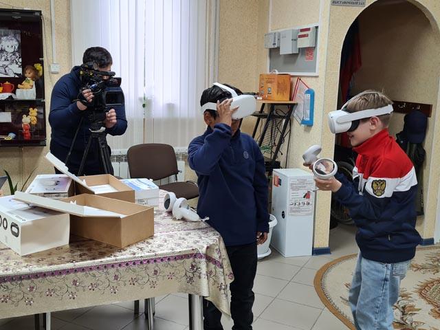 В музей Ханымея пришло оборудование для виртуальной и дополненной реальности